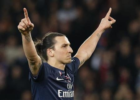 ZLATAN IBRAHIMOVIC, MEILLEUR JOUEUR DE LIGUE 1