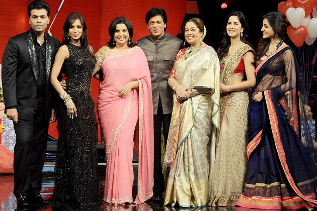 What&amp;#39;s making SRK and his ladies smile?