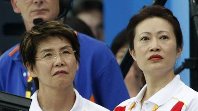 Masayo Imura (L), the head coach of China's synchronised swimming team during the Beijing 2008 Olympic Games has joined British Synchro (Reuters)