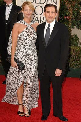 Nancy Walls and Steve Carell 63rd Annual Golden Globe Awards - Arrivals Beverly Hills, CA - 1/16/05