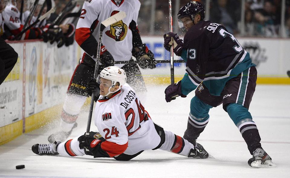Ducks blast Senators 4-1 with club-record 56 shots