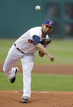 Indians option Danny Salazar to minors