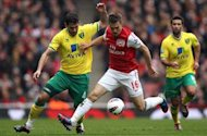 Arsenal 3-3 Norwich: Morison hits dramatic late equaliser as Gunners see Champions League hopes slip out of their hands