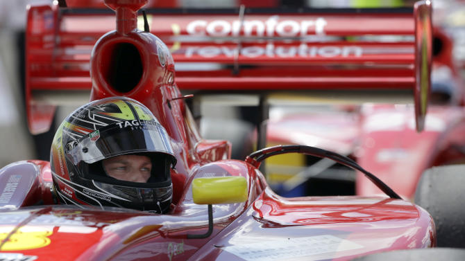 Karam gives up prom for chance to race Indy 500
