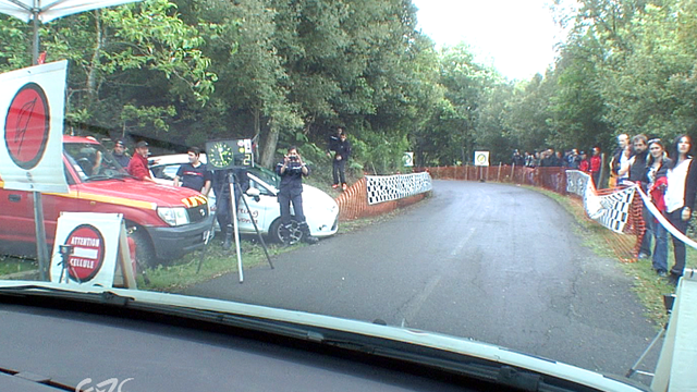 ERC TOUR DE CORSE Ancian crash