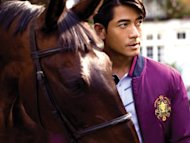Aaron Kwok excited at winning a horse race