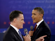 Obama und Romney schalten nach &quot;Sandy&quot; wieder in den Wahlkampfmodus