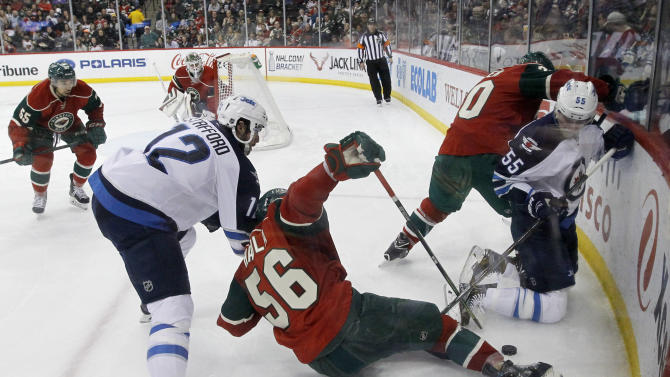 With 2-0 win by rival Jets, Wild can't clinch