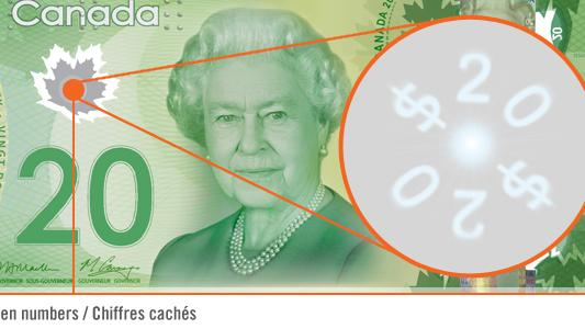 How to detect counterfeit Canadian bills