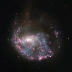 Galaxy Crash is a Cosmic Bullseye