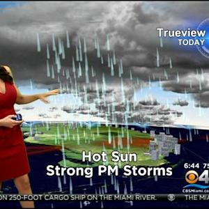 CBSMiami.com Weather 9/18/2014 Thursday 6AM