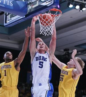 No. 5 Duke beats Minnesota 89-71