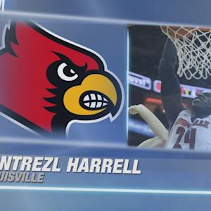 Louisville's Montrezl Harrell Top 3 Plays vs Notre Dame