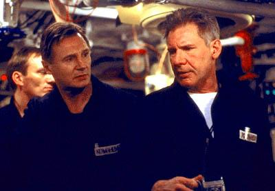 Liam Neeson and Harrison Ford in Paramount's K-19: The Widowmaker
