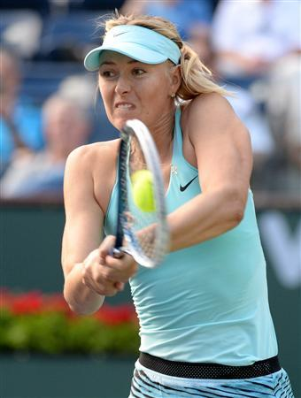 Tennis: BNP Paribas Open-Sharapova v Giorgi