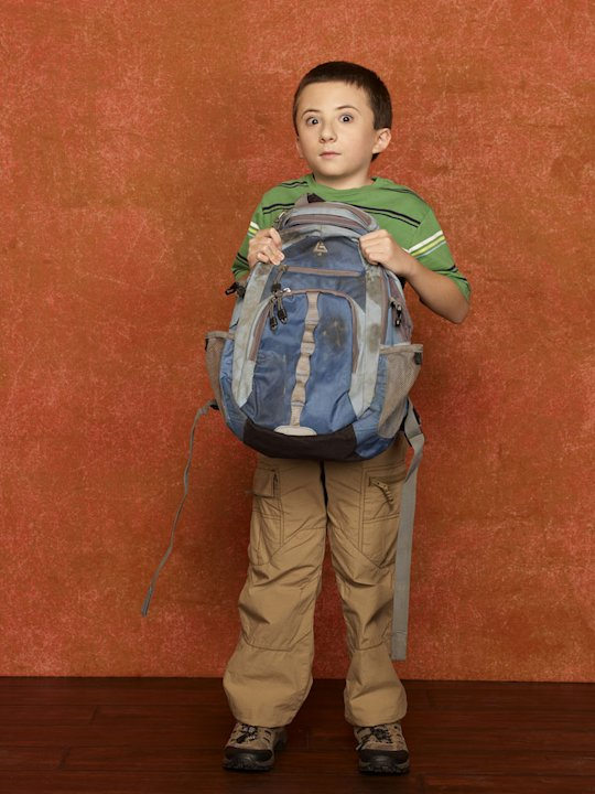 "Atticus Shaffer stars as Brick in ""The Middle."""