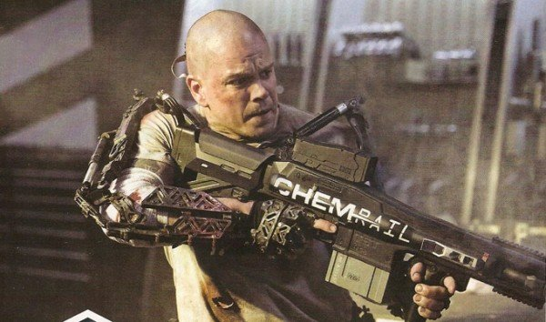 First Look: Matt Damon in 'Elysium'