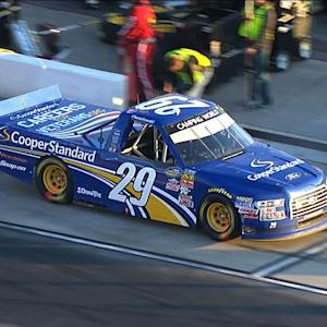 Keselowski loses laps after pit-road penalty