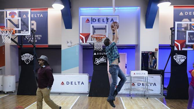 "Delta Air Lines Hosts VIP Reception & Chalk Talk Previewing the ""Delta Passport To Madison Square Garden,"" a First-Class Sports and Entertainment Experience Showcasing the Best of The Garden"