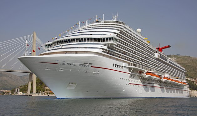 New Carnival Breeze Cruise Ship