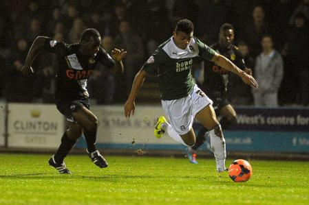 Soccer - FA Cup - Third Round - Replay - Plymouth Argyle v Port Vale - Home Park