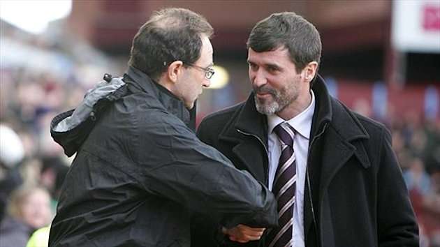 Martin O'Neill, left, and Roy Keane look set to join forces