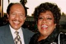 "File photo of Sherman Hemsley and Isabel Sanford, the stars of the popular television series ""The Jeffersons"""