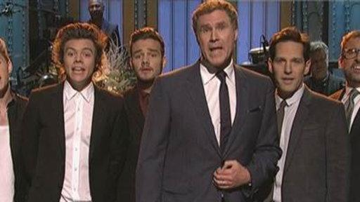 'Boy Band' vs. 'man Band' On SNL