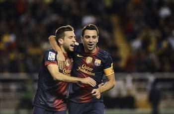Xavi named in Barcelona Champions League squad