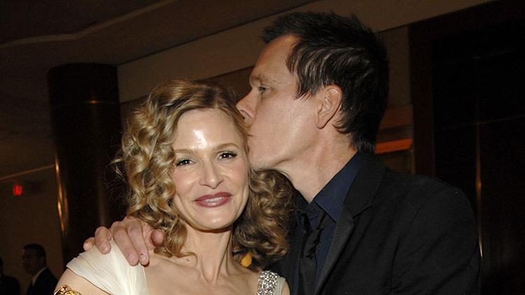 Kyra Sedgwick and Kevin Bacon at the In Style and Warner Bros. 2007 Golden Globe After Party.