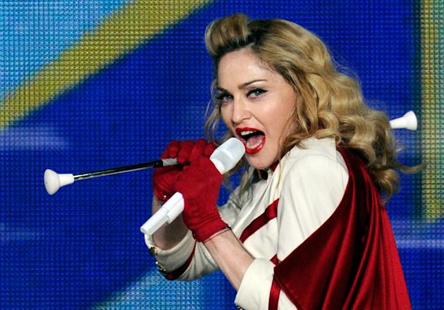 Madonna Performs At The MGM Grand