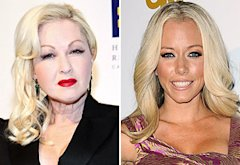 Cyndi Lauper, Kendra Wilkinson | Photo Credits: Paul Morigi/WireImage, Jason LaVeris/FilmMagic