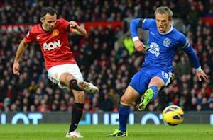 Giggs tips Manchester United for title as lead over City increases to 12 points