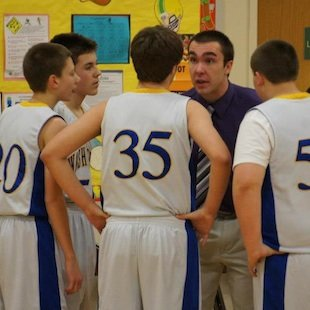 Cody Thompkins is just 19 but is already a varsity basketball coach — Facebook