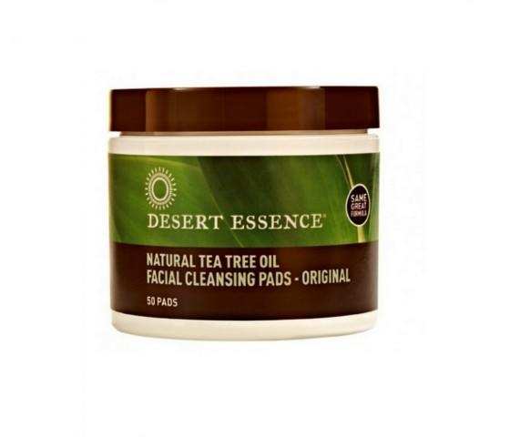 Desert Essence Natrual Tea Tree Oil Facial Cleansing Pads