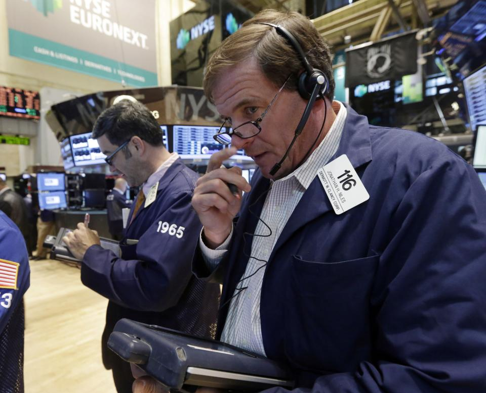 Nasdaq trading halts; stocks up on positive data