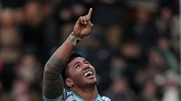 Richard Cockerill hailed the performance of Manu Tuilagi, pictured