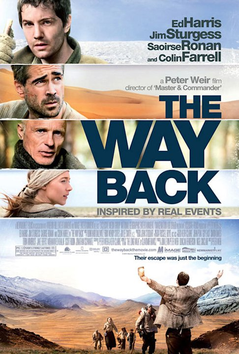 The Way Back 2010 Newmarket Films Poster