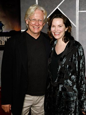 Bruce Davison and wife at the Hollywood premiere of Miramax Films' No Country for Old Men