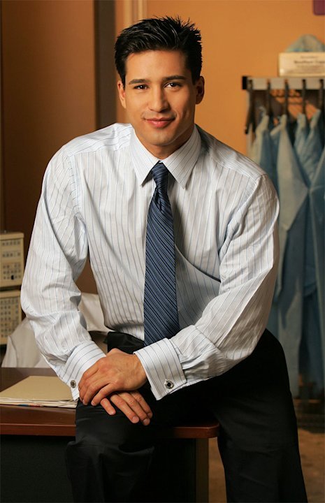 Mario Lopez stars as Dr. Christian Ramirez in The Bold and the Beautiful on CBS.