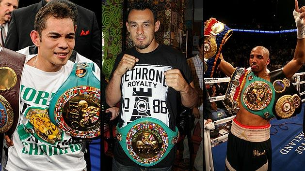 Nonito Donaire and Robert Guerrero and Andre Ward