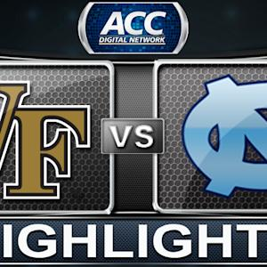 Wake Forest vs North Carolina | 2014 ACC Women's Basketball Tournament Highlights