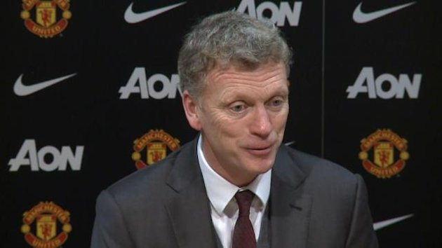 Manchester United manager David Moyes (Perform)