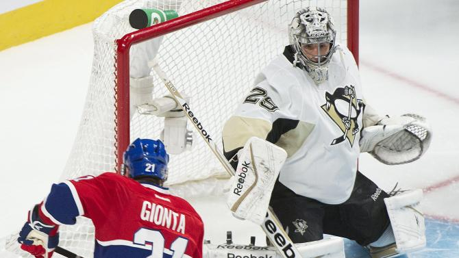Pacioretty's 2 goals lift Canadiens over Penguins