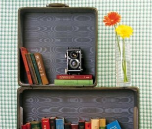 Creative ways to reuse an old suitcase...