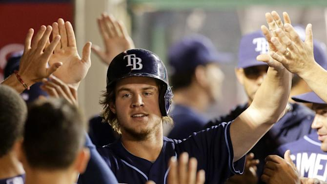 Wil Myers' 2 homers lead Tampa Bay past Angels 3-1