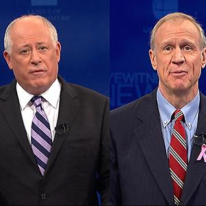 Ill. Governor, Challenger Spar Over Economy