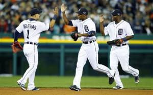 MLB: ALDS-Oakland Athletics at Detroit Tigers