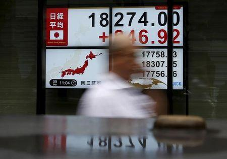 Asia stocks wary, dollar knocked after weak U.S. data