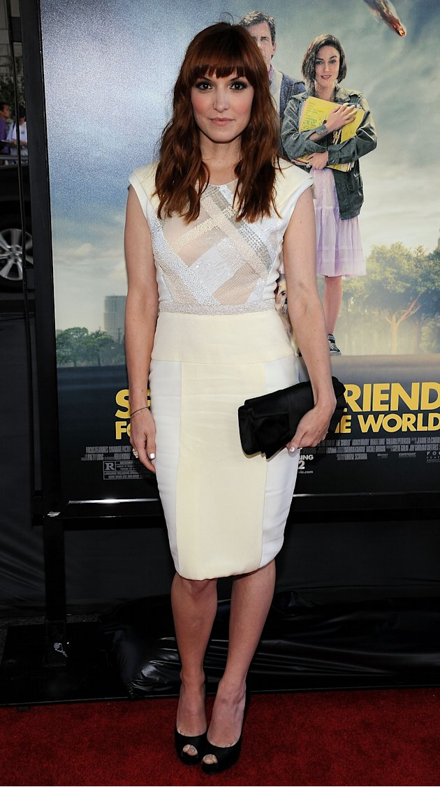"Lorene Scafaria at the LA Film Festival premiere of "" Seeking A Friend For The End Of The World"""